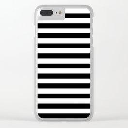Bretton Stripe Clear iPhone Case