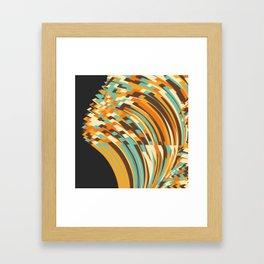 Crunchy Framed Art Print