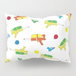 Waterguns Pattern Pillow Sham