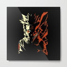 Naruto Transformation Metal Print