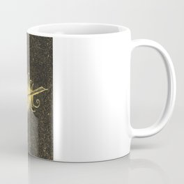 Yellow Feather Coffee Mug