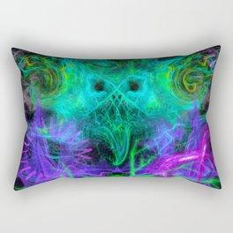 Moonlight Nausea, Starlight Vertigo (abstract, psychedelic, trippy) Rectangular Pillow