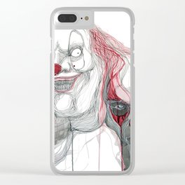 The Clowns Clear iPhone Case