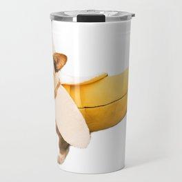 Banana Corgi Travel Mug