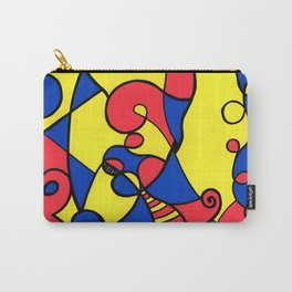 Print #12 Carry-All Pouch