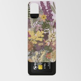 Pressed Flower English Garden Android Card Case