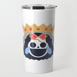 Brook Emoji Design Travel Mug