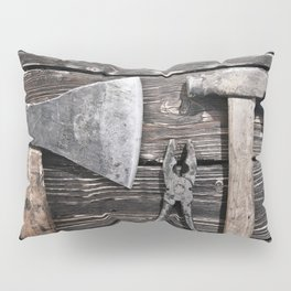 Old rusty tools Pillow Sham