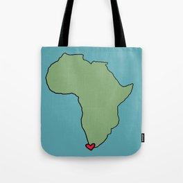 Ali Hearts Cape Town Tote Bag