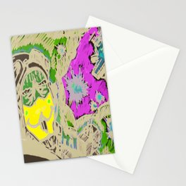 The jack rabbits squadron Stationery Cards