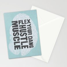 Flex Your Dang Hustle Muscle Stationery Cards