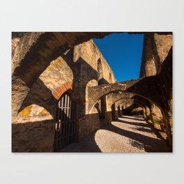 Texas Mission Arches Canvas Print