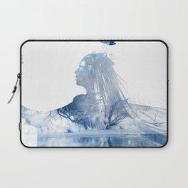 Winter Echo Laptop Sleeve