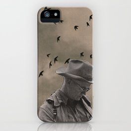 loneliness of the long distance cowboy iPhone Case