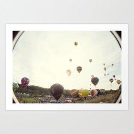 Take To The Sky Art Print