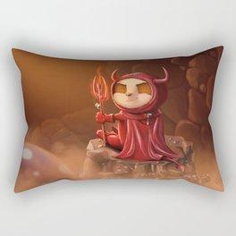 Teemo, the Satan (no text) Rectangular Pillow