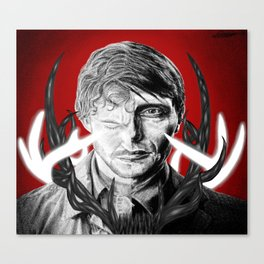 Will and Hannibal Canvas Print