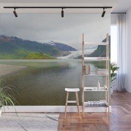 Mendenhall Glacier Juneau Alaska Wall Mural