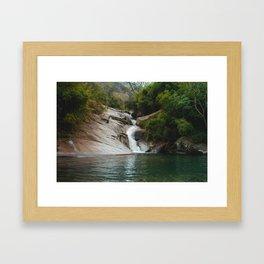 Swimming Hole Framed Art Print