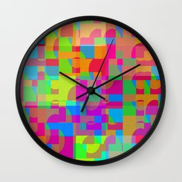Fissures in framework ... Wall Clock