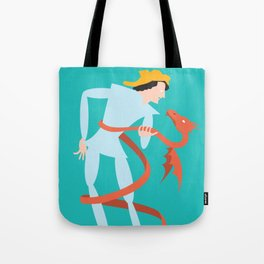 Dragonboy, green Tote Bag