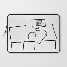 web designer graphic artist Laptop Sleeve