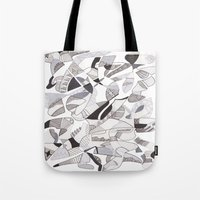 orca Tote Bags featuring ORCA by Alex Rocha