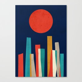 World's Edge Canvas Print