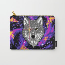 Galactic Pizza Wolf Carry-All Pouch