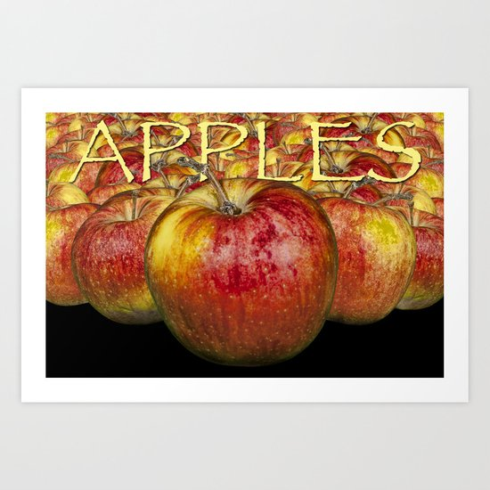 Red Apples Art Print