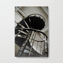 Iron Staircase Metal Print