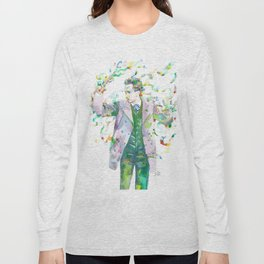 RICHARD STRAUSS - watercolor portrait.1 Long Sleeve T-shirt