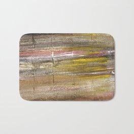 Grullo abstract watercolor Bath Mat