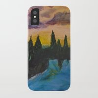 maine iPhone & iPod Cases featuring Maine by Lissasdesigns