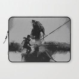 Lara Croft v2 Laptop Sleeve