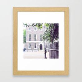 London Grey House Framed Art Print