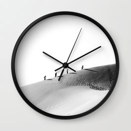 Feel the desert adventure Wall Clock