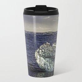 Jokulsarlon Lagoon Beach 02 Travel Mug