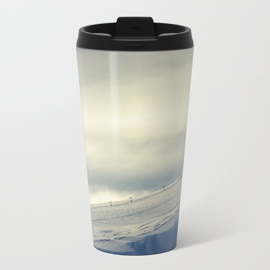 Above the Clouds - Mt. Hood Metal Travel Mug