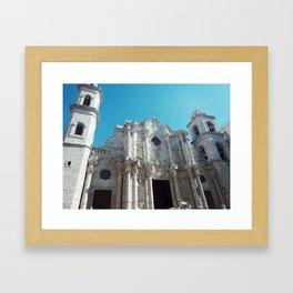 Plaza de la Catedral Framed Art Print
