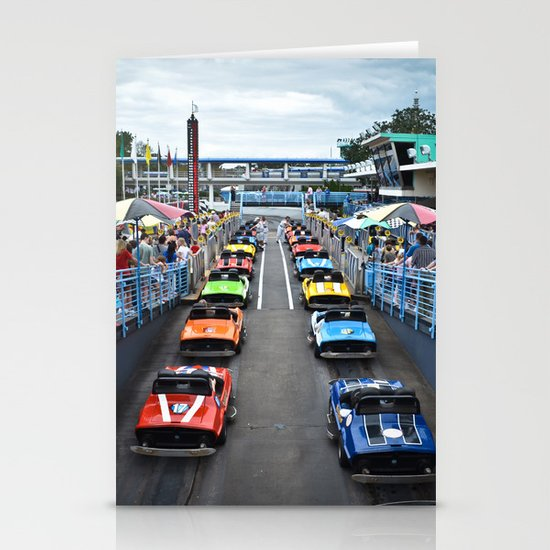 Tomorrowland Speedway Stationery Cards