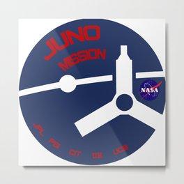 Juno Mission Logo Metal Print