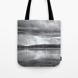 Birdland BW Tote Bag