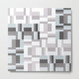 Modern Geometric Metal Print