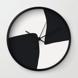 XY Opposite Wall Clock