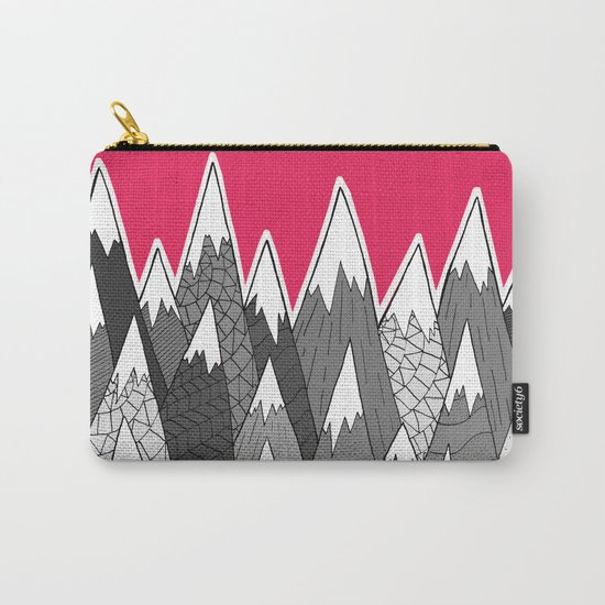 The Tall Grey Mountains Carry-All Pouch