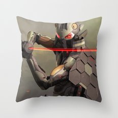 Cymurai 09 Throw Pillow