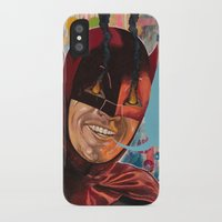 Caped Crusader by Famous When Dead Slim Case iPhone X