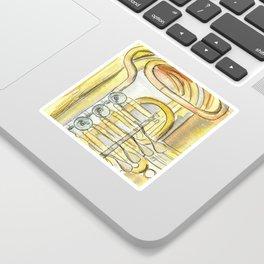 Tuba Tubs Sticker