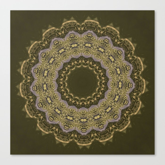 Better than Yours Colormix Mandala 4 Canvas Print